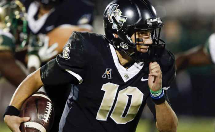 Know the Enemy;  UCF Knights2018
