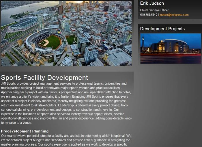 JMI Facility Development