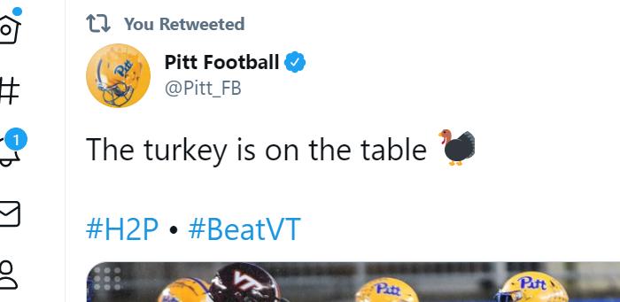 Virginia Tech at Pitt PostgameThread